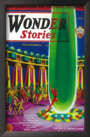 Wonder Stories - Pulp Poster, 1932 Prints