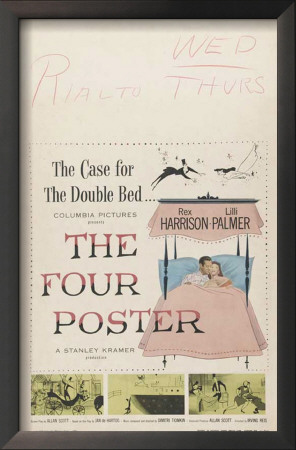 The Four Poster Print