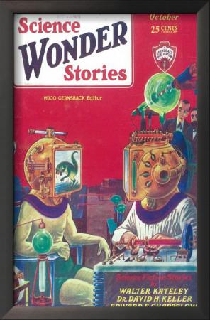 Science Wonder Stories - Pulp Poster, 1930 Posters