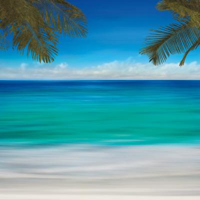 Paradise I Art by Jennifer Bailey