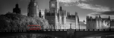 London Bus V Art Print