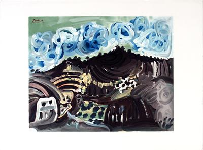 Vue Depuis L'Atelier De L'Artiste Verzamelposters van Pablo Picasso
