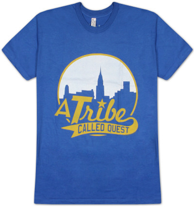 A Tribe Called Quest - Skyline on Royal T-Shirt
