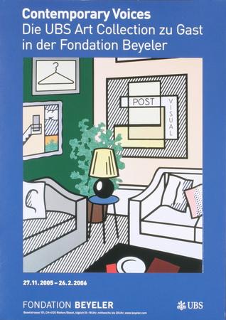 Post Visual Posters by Roy Lichtenstein