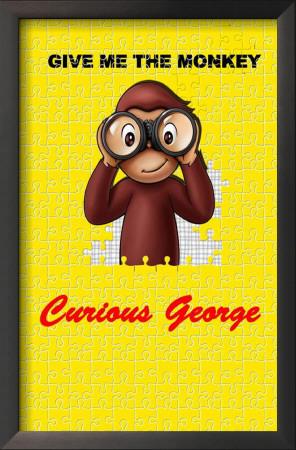 Curious George Art