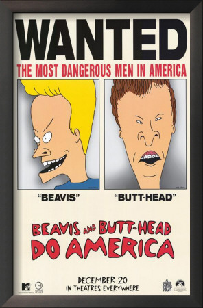 Beavis and Butthead Do America Prints