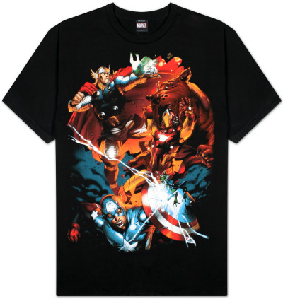 The Avengers  - Dog Biscuits Camiseta