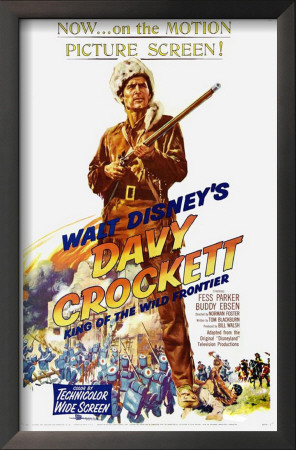 Davy Crockett, King of the Wild Frontier Poster