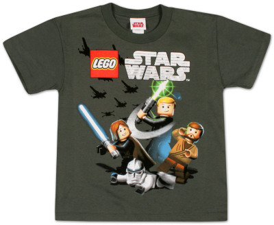 Youth: Lego Star Wars  - Wild Boy T-Shirt
