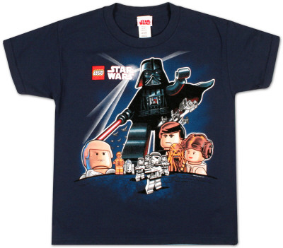 Youth: Lego Star Wars  - Empire Poster T-Shirt
