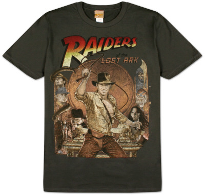 Indiana Jones  - Raiders Rule T-Shirt