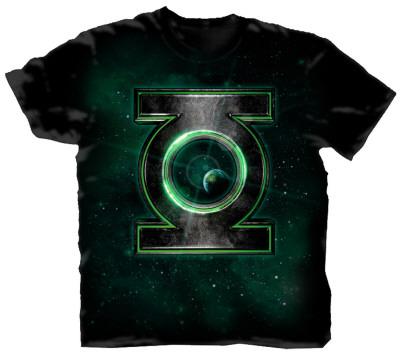 Green Lantern - Space Logo Camiseta