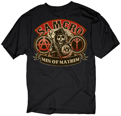Sons of Anarchy - SAMCRO Camiseta