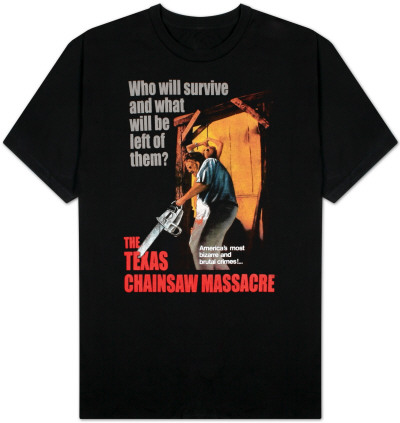 Texas Chainsaw Massacre - Bizarre & Brutal Crimes! T-Shirt