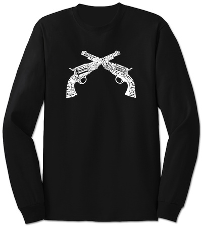 Long Sleeve: Pistols T-Shirt