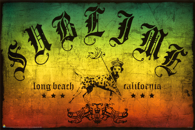 Sublime - Long Beach Rasta Poster