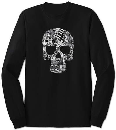 Long Sleeve: Sex, Drugs, Rock & Roll Langærmet T-shirt
