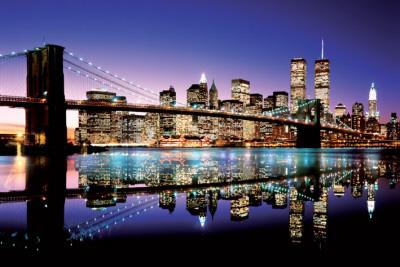 Brooklyn Köprüsü, Renkli Poster