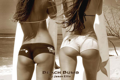 Beach Bums - by Jason Ellis Affiche