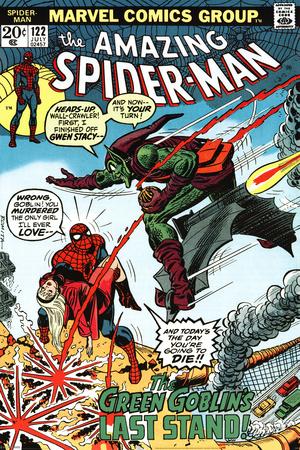 marvel retro spider man vs green goblin