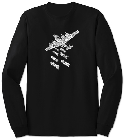 Long Sleeve: Drop Beats Not Bombs T-Shirt