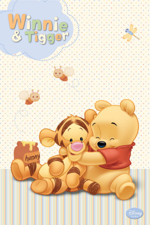 Disney Baby Winnie  amp  Tigger Posters - AllPosters co ukBaby Winnie The Pooh And Tigger