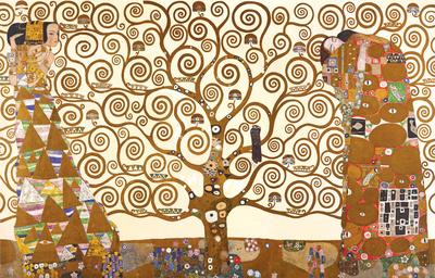 Gustav Klimt - The Tree Of Life Print