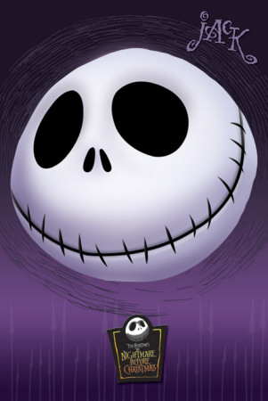 Nightmare Before Xmas-Head Pster