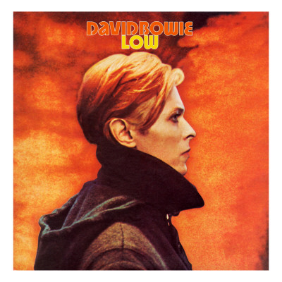 David Bowie Low Music cover art poster