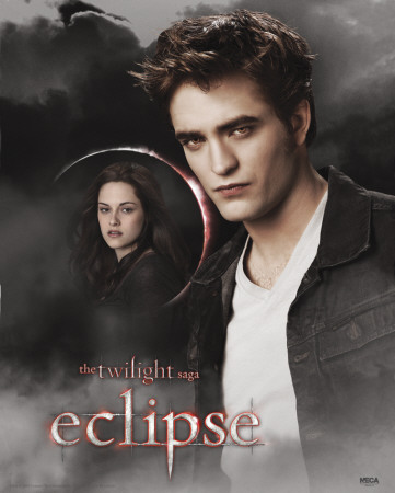 Twilight - Eclipse (Edward And Bella Moon) Mini Poster