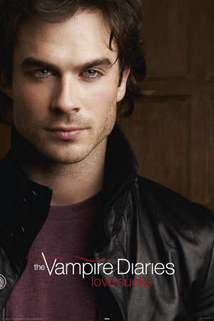 Vampire Diaries - Damon Salvatore Poster