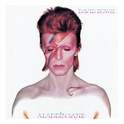 David Bowie Aladdin Sane Music cover art poster