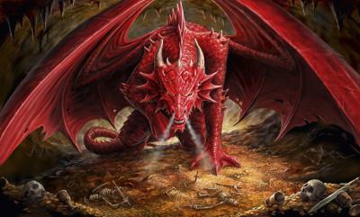 Anne Stokes - Dragons Lair Affischer
