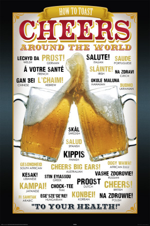 Cheers Around The World Affiche