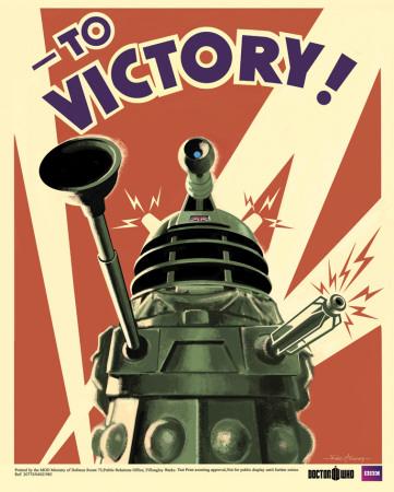 Doctor Who - Dalek Miniaturní plakát