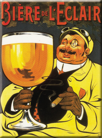 Biere de L' clair Tin Sign