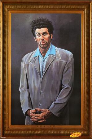 Seinfeld - Kramer Plakat