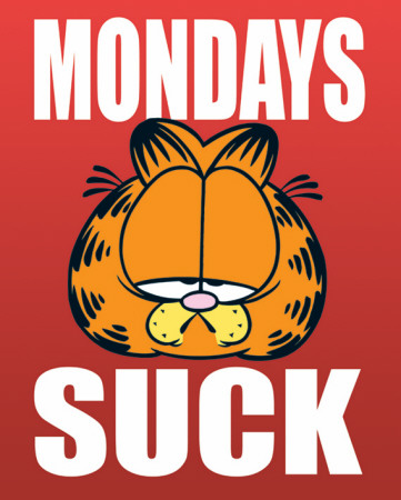 Garfield - Mondays Suck Mini Poster