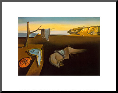 The Persistence of Memory, c.1931 Mounted Print by Salvador Dalí