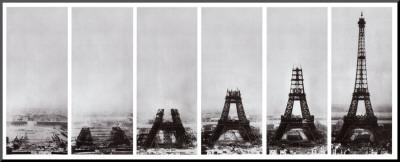 Tour Eiffel Mounted Print