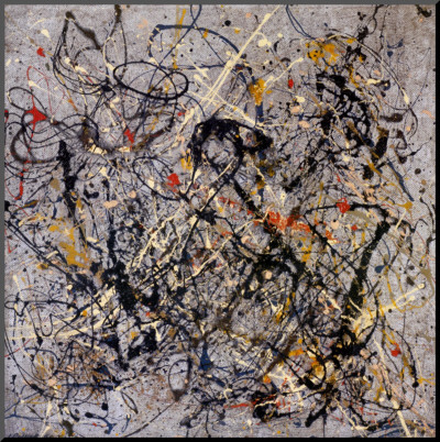 Number 18, 1950 Mounted Print by Jackson Pollock