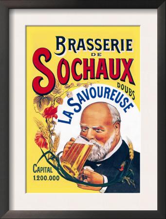 Brasserie de Sochaux Poster