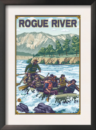 White Water Rafting, Rogue River, Oregon Posters
