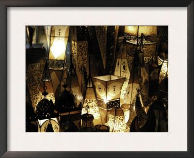 Lamps, Morocco Poster by Pietro Simonetti
