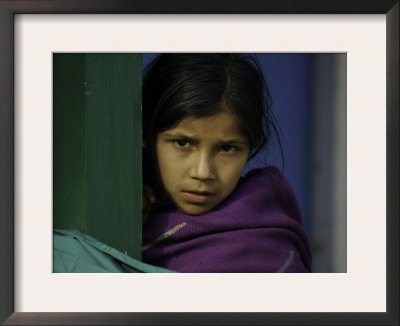 Young Girl's Face, Nepal Posters by David D'angelo
