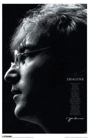John Lennon Imagine Masterprint