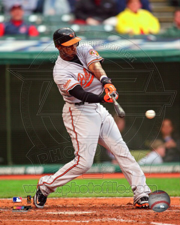 Adam Jones 2011 Action Photo