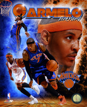 Carmelo Anthony 2011. Carmelo Anthony 2011 Portrait