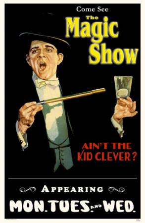 The Magic Show Masterprint