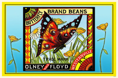Butterfly Brand Beans Masterprint